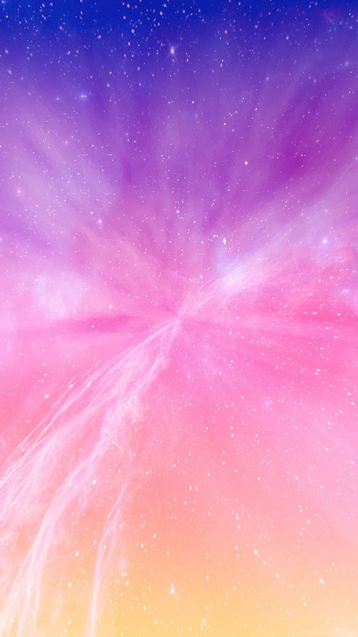 Iphone 7 Wallpaper Size Bright Color Milky Galaxy Spaced Out Jpg Desktop Background