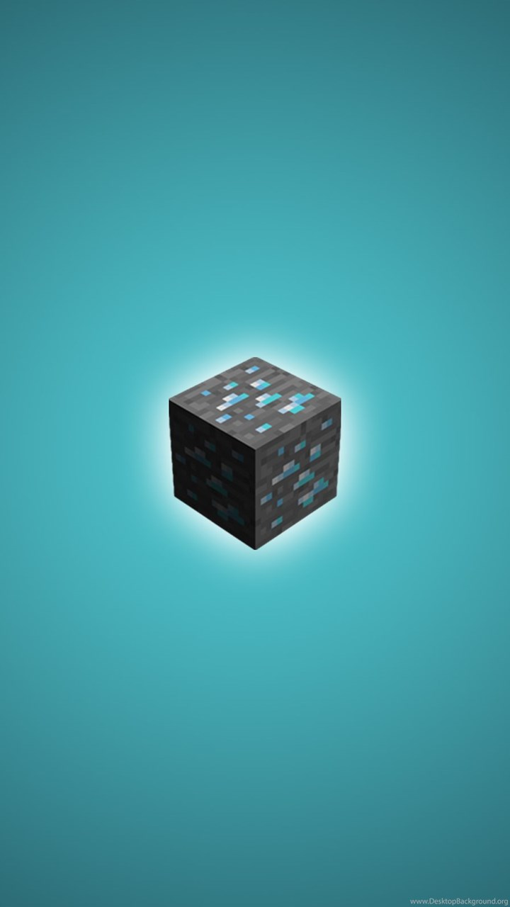 Minecraft Diamond Wallpapers Hd Free Large Images Desktop Background