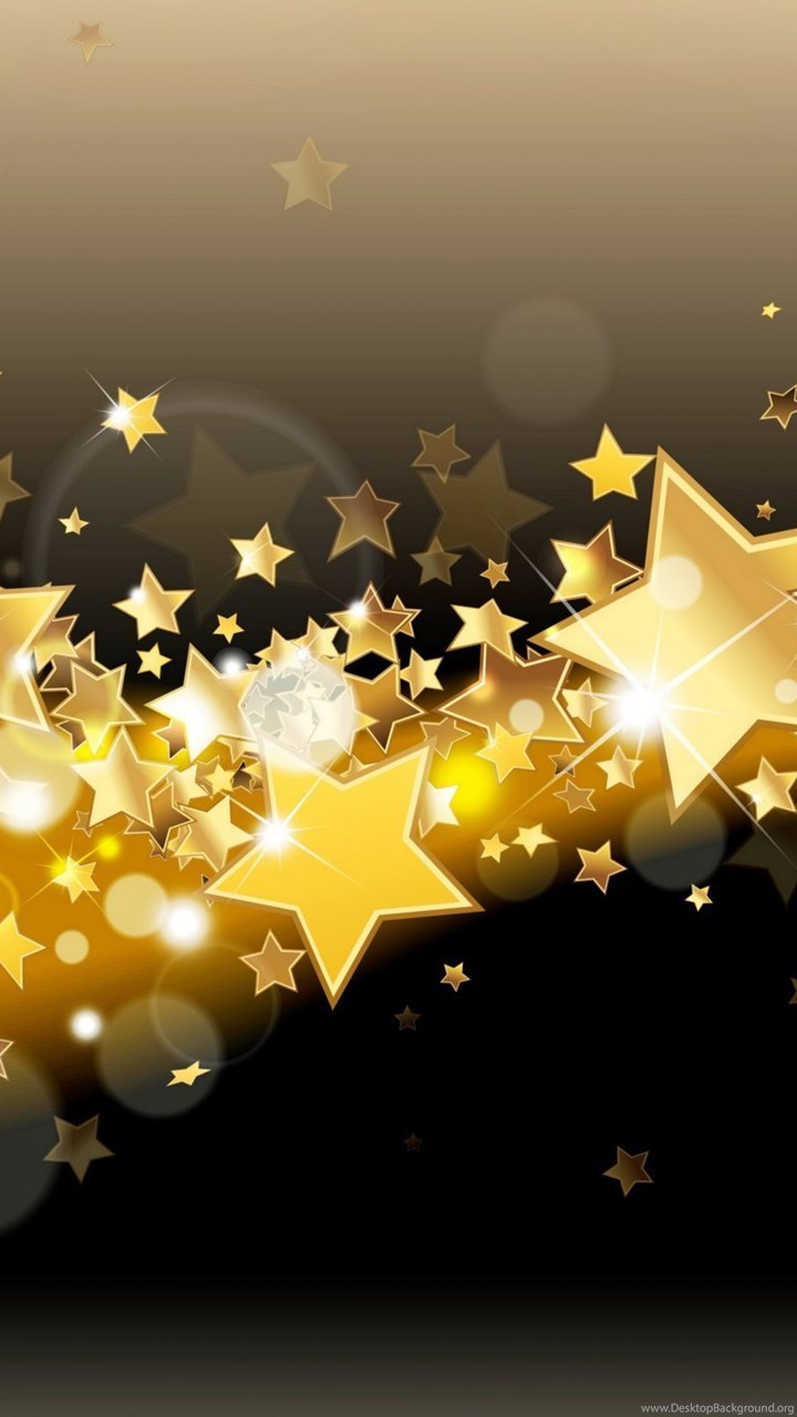 Gold Iphone X Wallpaper Golden Stars Sparkle Glitter Glow Backgrounds Backgrounds