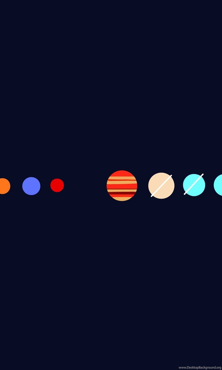 Cute Korean Wallpaper For Android Hd Minimalist Simple Minimal Planets Wallpapers Full Hd