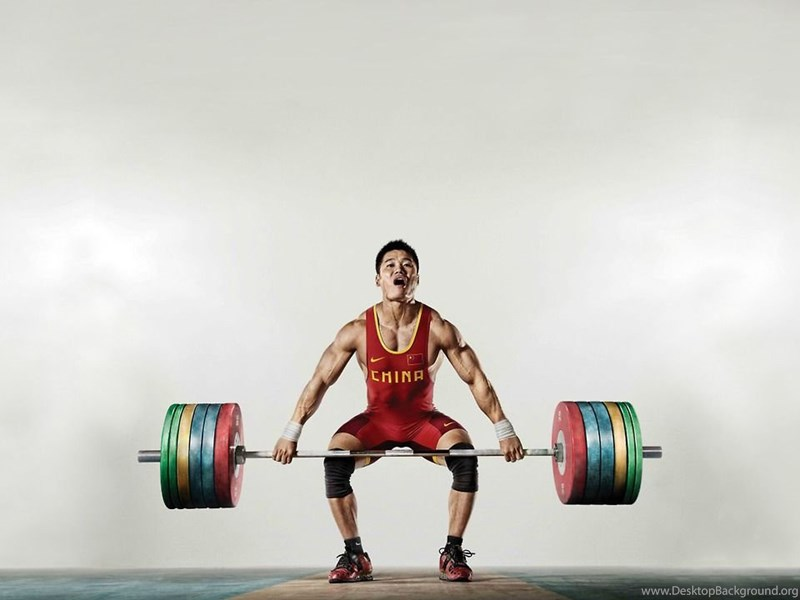 Weight Lifting Wallpaper Iphone Lu Xiaojun Mid Snatch Wallpaper Weightlifting Desktop