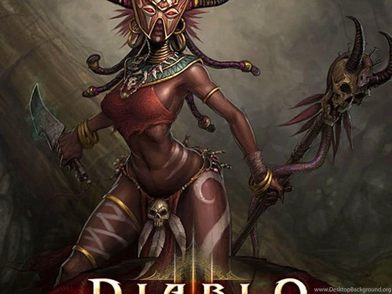 Wallpaper Hunter X Hunter Iphone Iphone 6 Plus Diablo 3 Witch Doctor Female Games