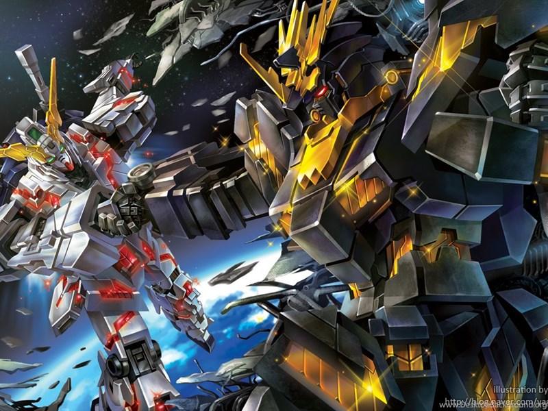 Orchid Iphone Wallpaper Gundam Unicorn 59 Free Hd Wallpapers Animewp Com Desktop
