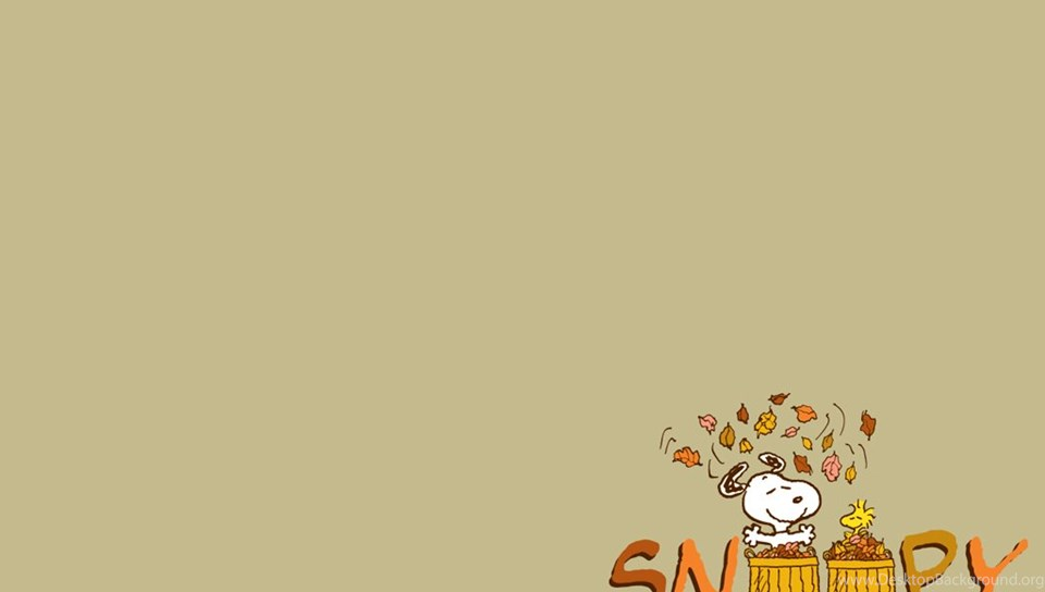 Peanuts Wallpaper Fall Snoopy Autumn Wallpapers Wallpapers Zone Desktop Background