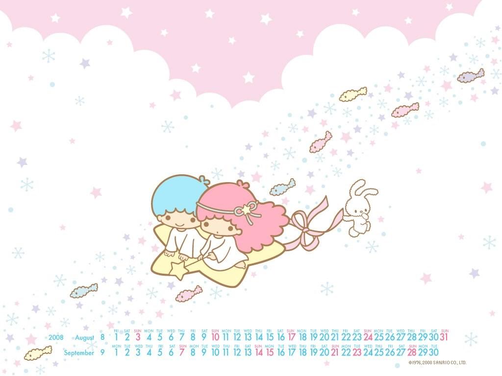 Little Twin Stars Little Twin Stars Wallpapers (2343911) Fanpop Desktop Background