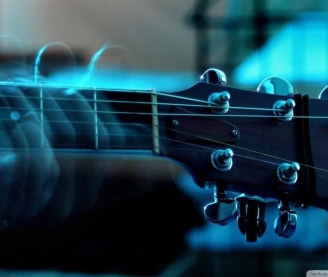 Playing Guitar Hd Desktop Wallpapers Widescreen High Definition Desktop Background