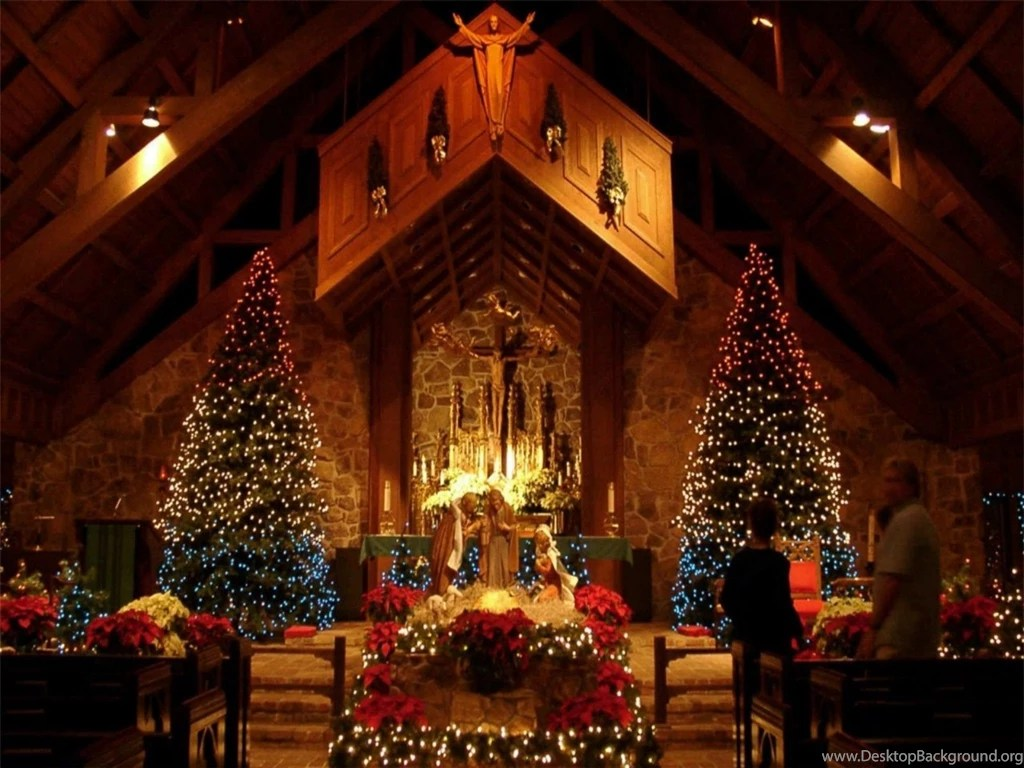 christmas scenery backgrounds wallpapers