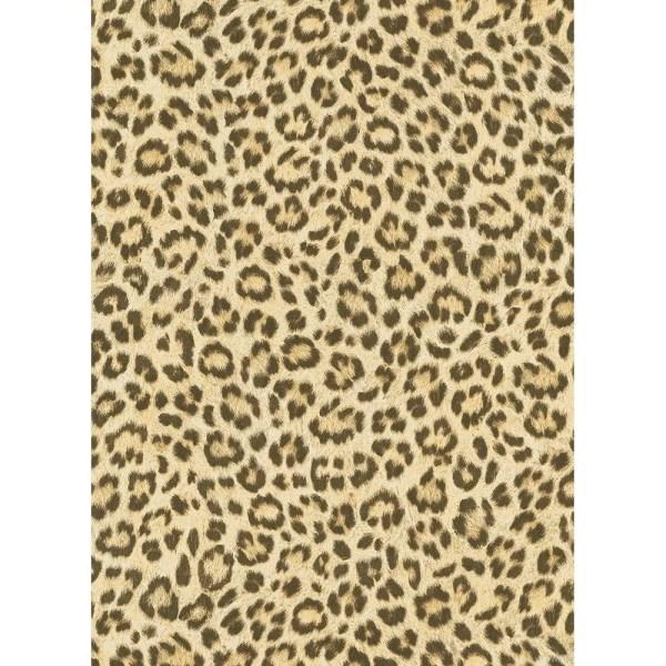 Arthouse Fierce Leopard Skin Animal Print Wallpapers Black