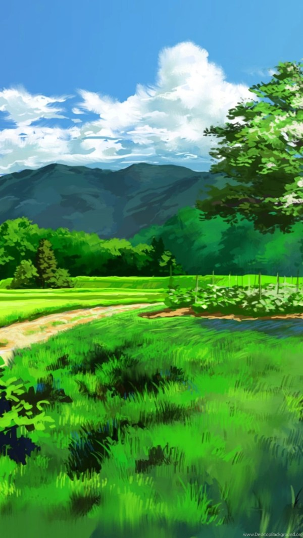 anime landscape dual screen s4