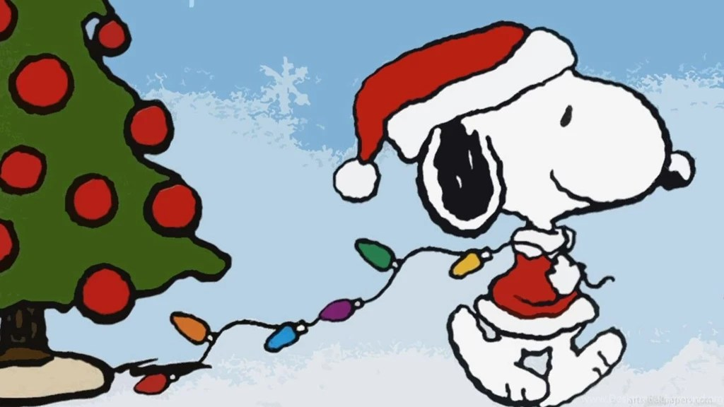 Snoopy Christmas Wallpapers Hd Free Download Desktop Backgroundhappy