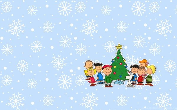 snoopy christmas backgrounds wallpapers
