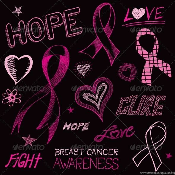 Breast Cancer Awareness Wallpaper Iphone Breast Cancer Pink Ribbon Black Backgrounds Breast Cancer