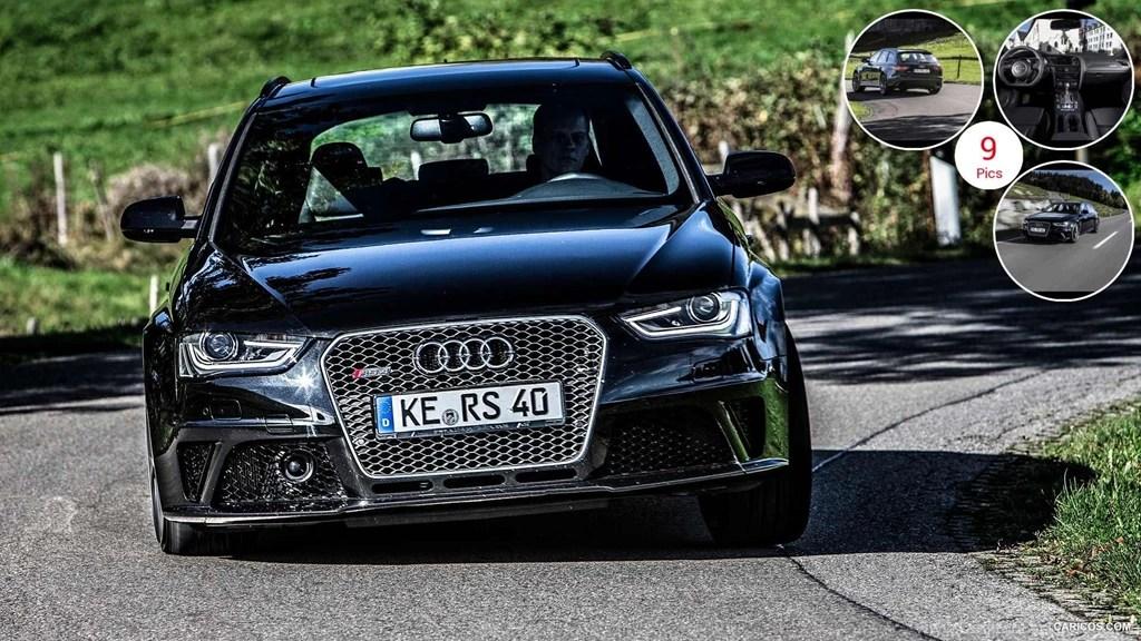 2013 Abt Audi Rs4 Avant Front Desktop Background