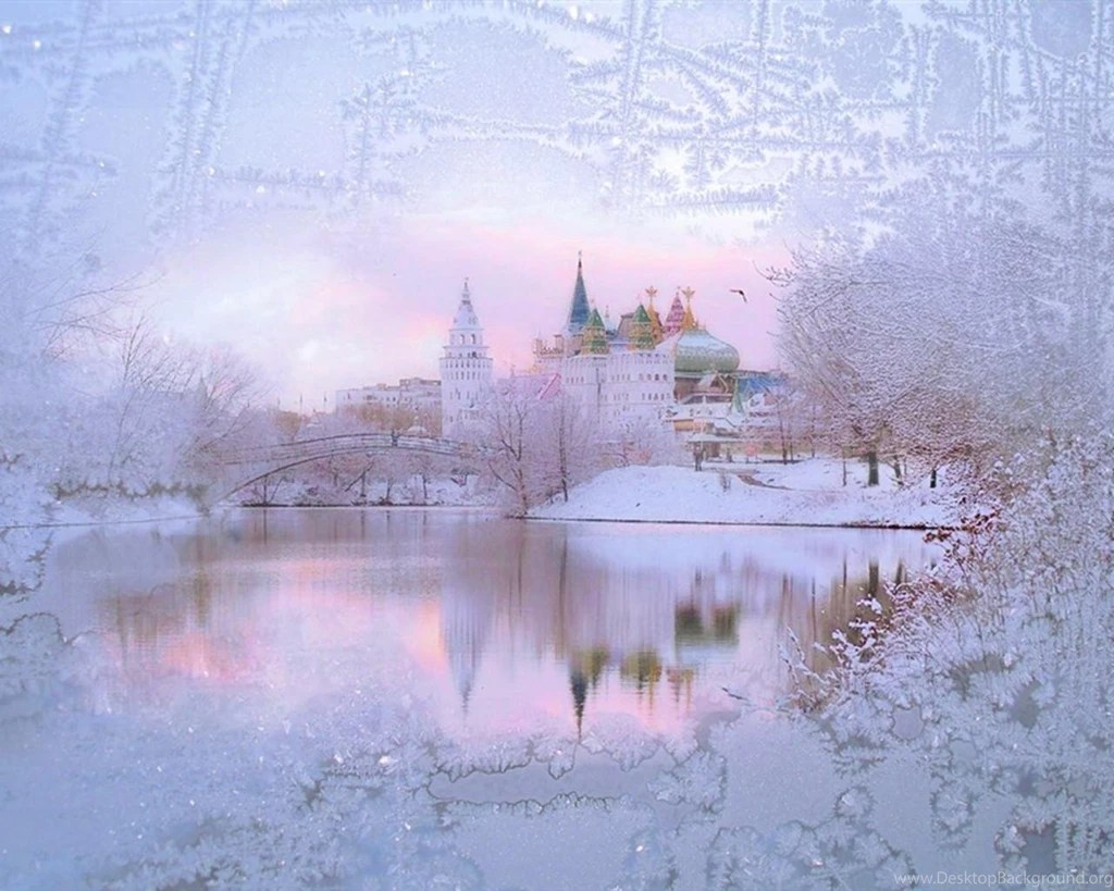 Snow Falling Video Wallpaper Winter Fantasy Wallpaper Desktop Background