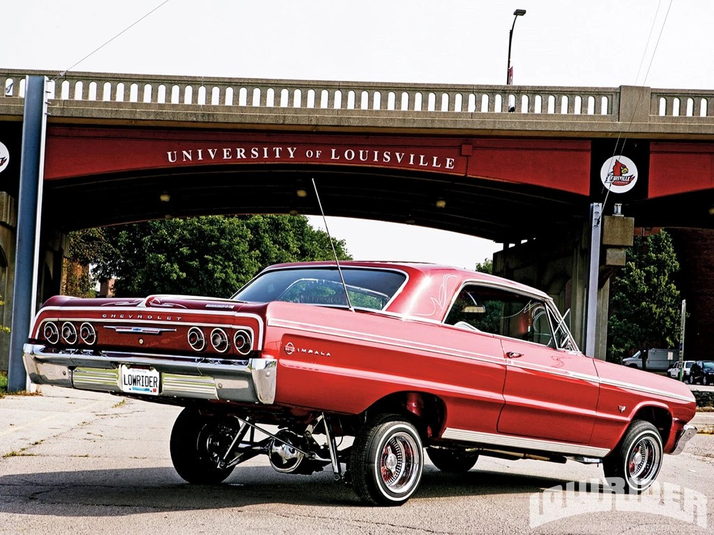 50s Car Wallpaper Iphone Red 1964 Impala Lowrider Chevrolet Impala 64 Wallpapers