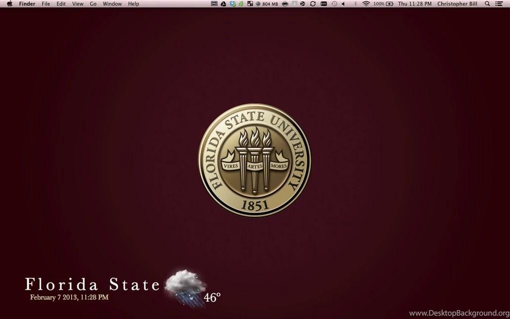Florida State Iphone X Wallpaper Florida State University Logo Wallpapers Wallpapers Zone