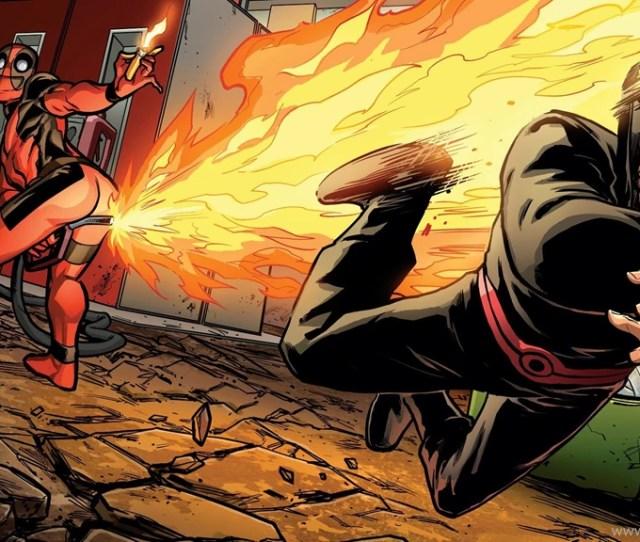 Deadpool Gas Fart Marvel Android Wallpapercomics Hd Wallpapers Desktop Background