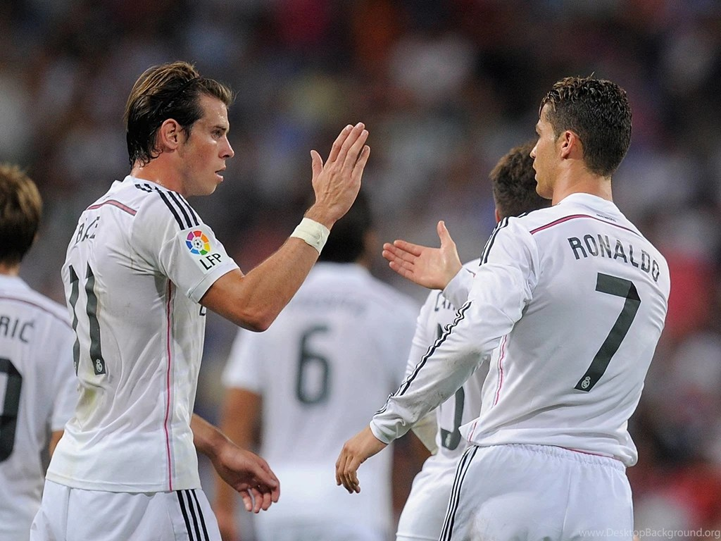 cr7 and bale hd