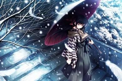 Wallpaper Girl Sad Mood Sad Mood Sorrow Dark People Love Girl Artwork Anime