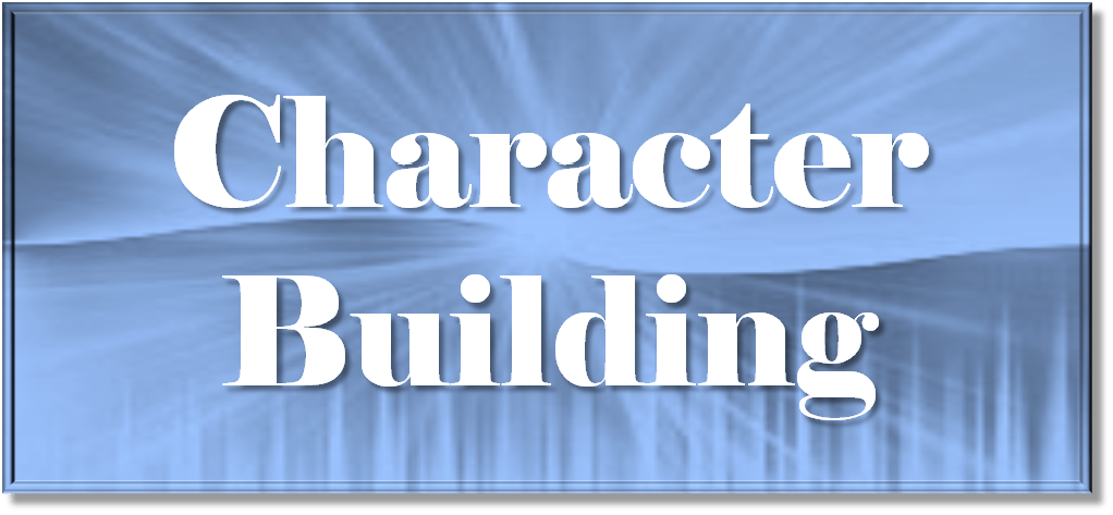 character building Character is forged at those defining moments when a manager must choose between right and right.
