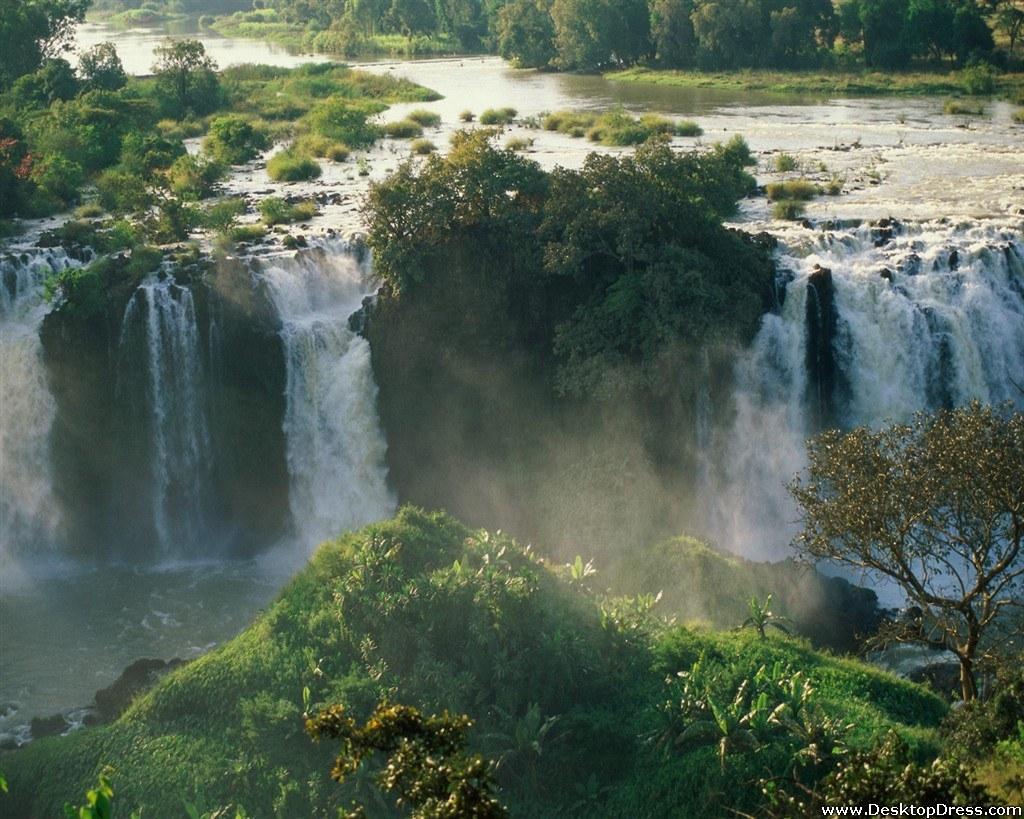 Blue Nile Falls Wallpaper Desktop Wallpapers 187 Natural Backgrounds 187 Blue Nile Falls