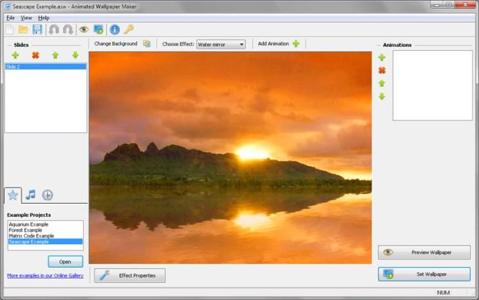 Screenshot for Animated Screensaver Maker 3.0.4 ফ্রি Animated Screen Saver Maker3.0.Mediafire link