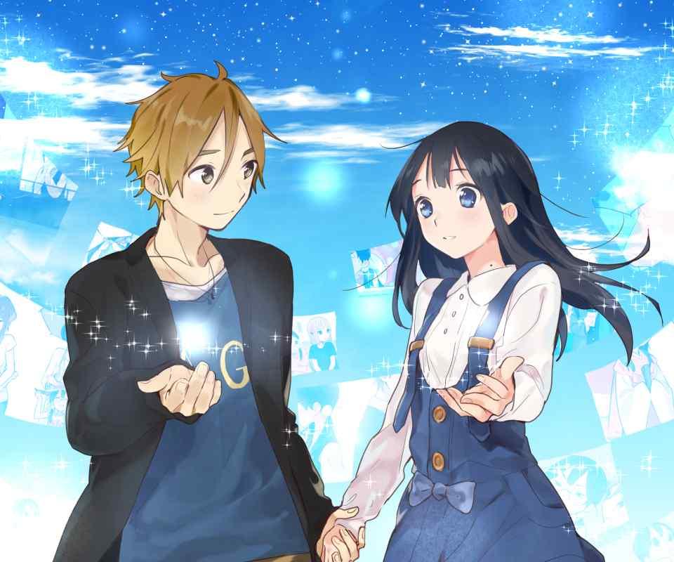 Anime Girl And Boy Wallpaper Hd 北白川玉子与大路饼藏桌面壁纸包 玉子市场 桌面天下(desktx Com)
