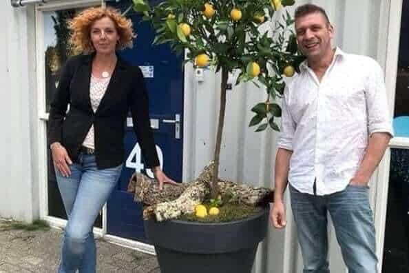 Sandra en Marcello