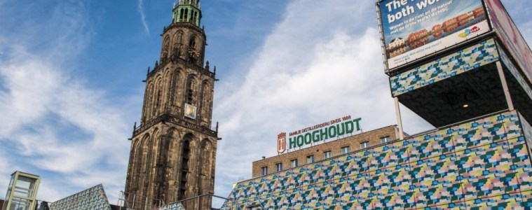 Martinitoren in Groningen, Grote Markt