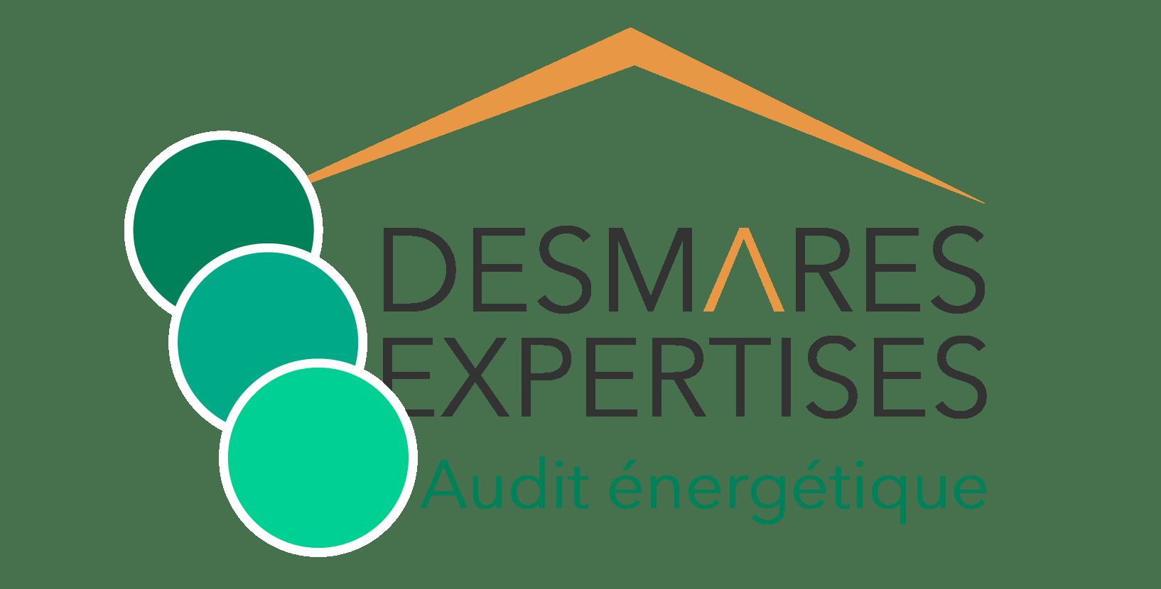 logo audit energetique desmares expertises