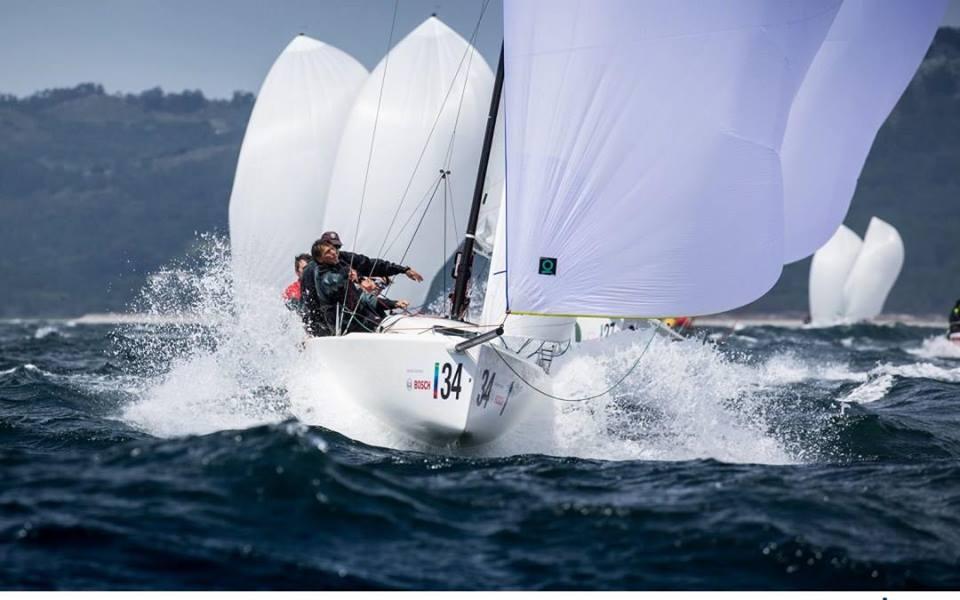 Gran fin de semana en la 3ª Serie de la Vigo Winter Series de J70