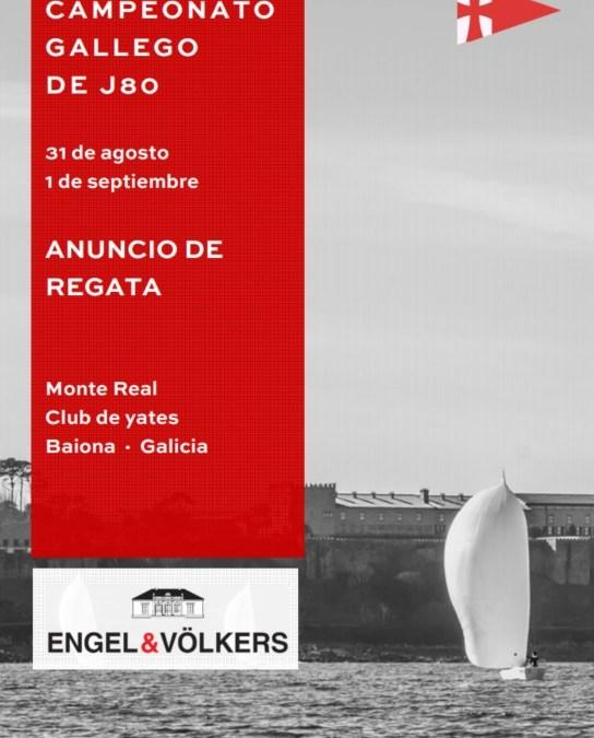 Campeonato Gallego clase J80