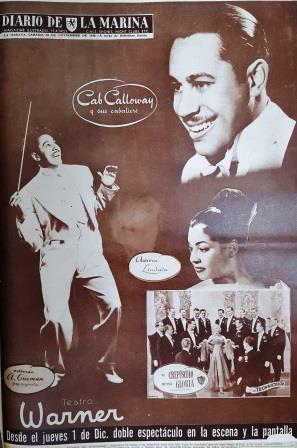 In Warner Theater -Dec.1949-Havana