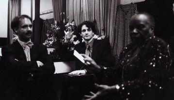 En el Teatro Colon, Buenos Aires, con Mauricio Vallina