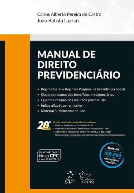 Manual de Direito Previdenciário - Lazzari