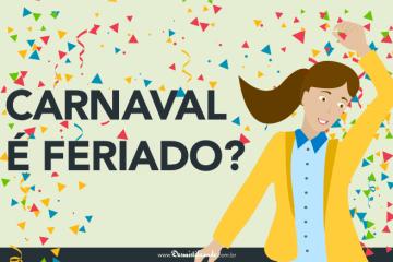 Carnaval é feriado?