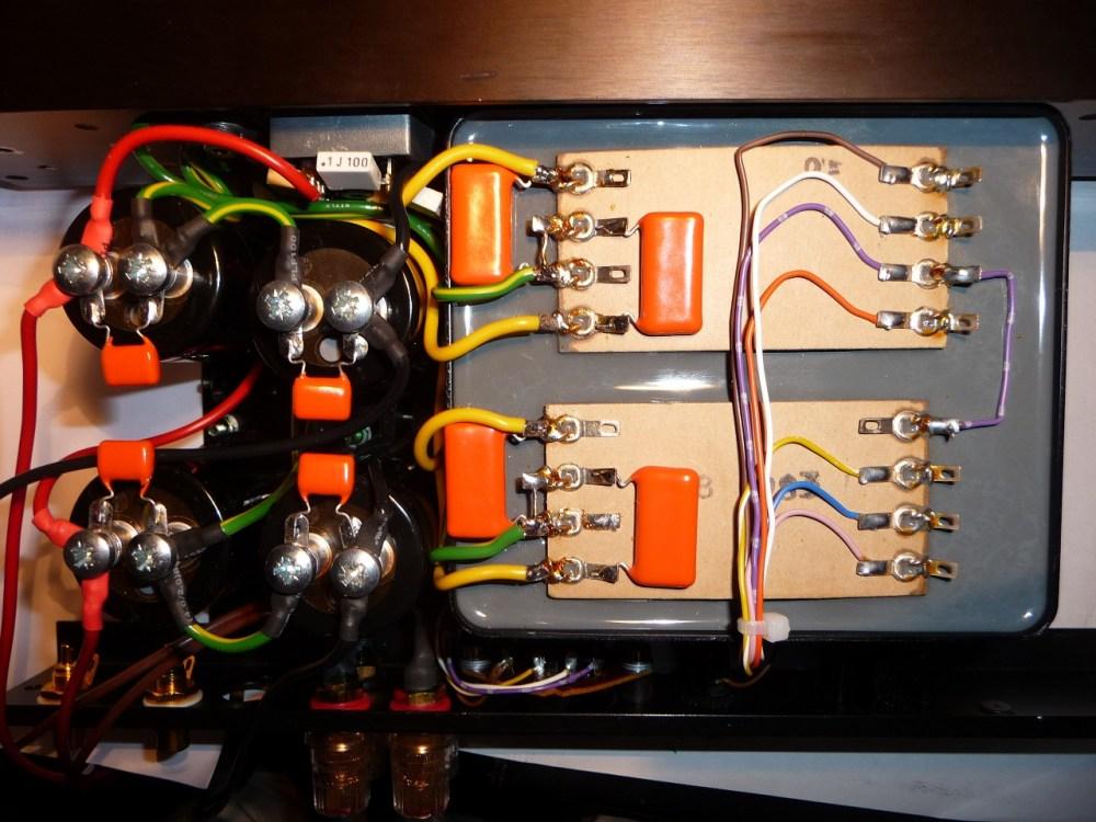 medium resolution of quad 405 2 power supply after modification