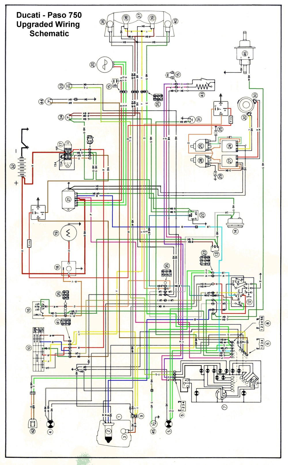 medium resolution of ducati paso wiring diagram wiring library ducati 450 wiring diagram starting to read more about the