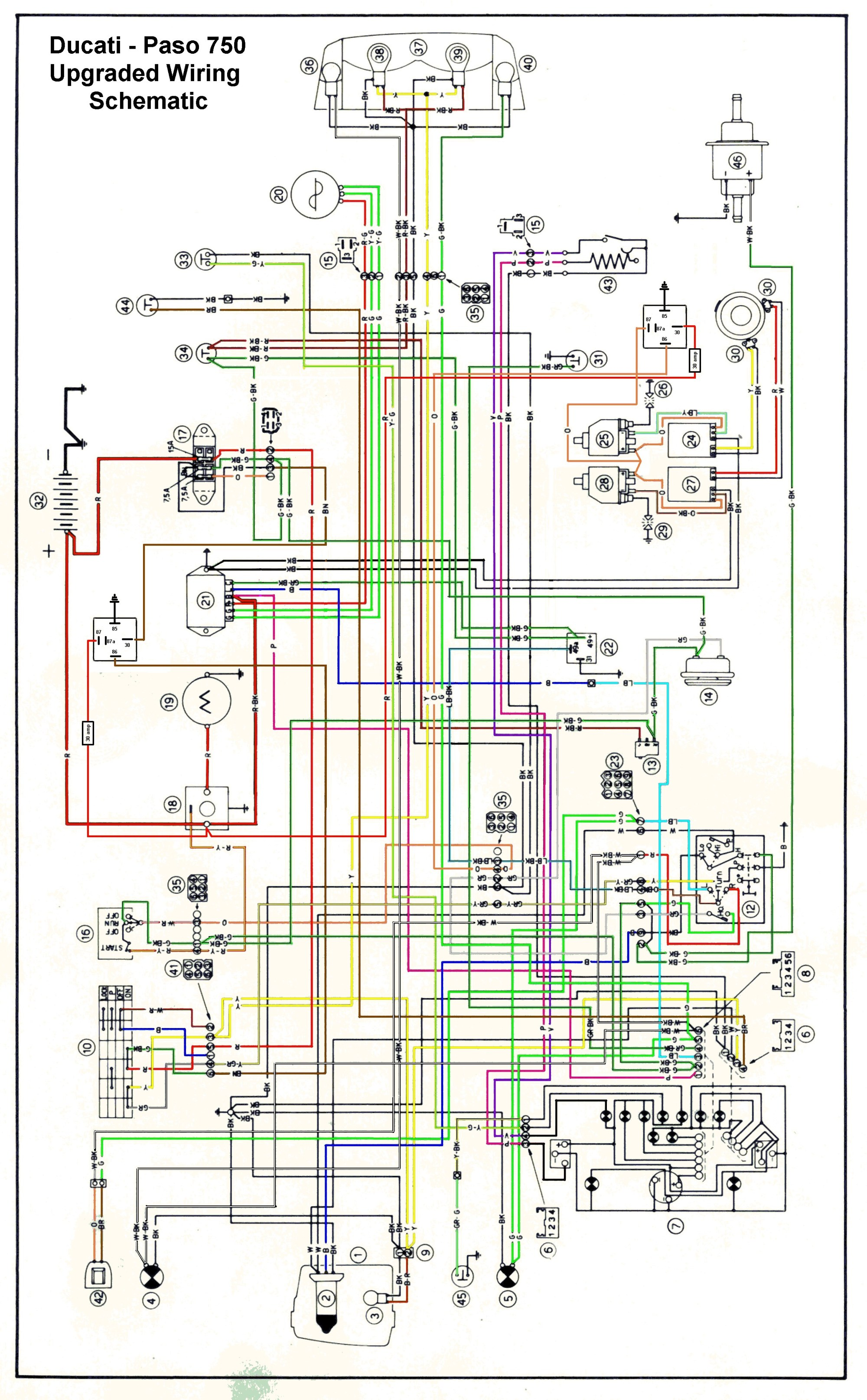 hight resolution of ducati paso wiring diagram wiring library ducati 450 wiring diagram starting to read more about the