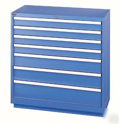 Lista cabinets steel storage drawer container tool box