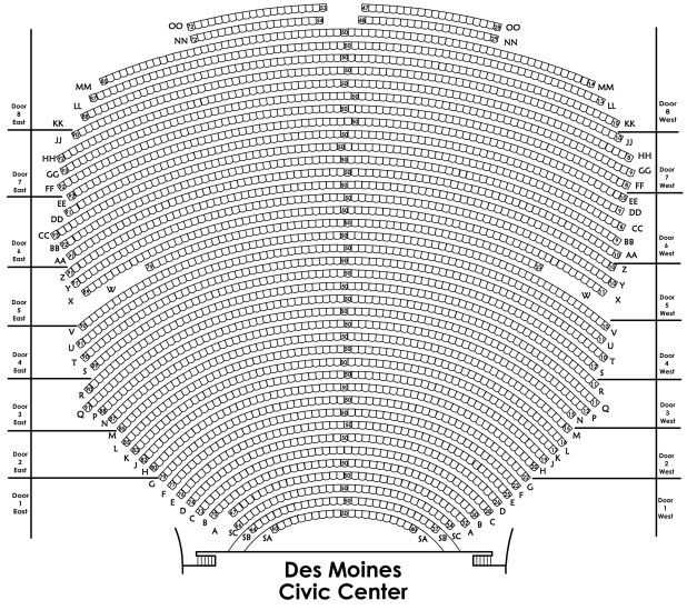 Des Moines Performing Arts Seating Chart Brokeasshome Com