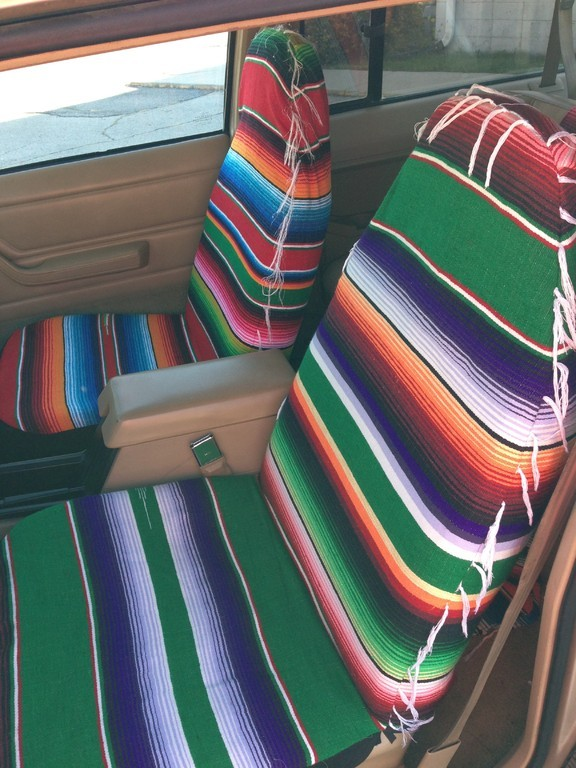 Mexican Blanket Pillows