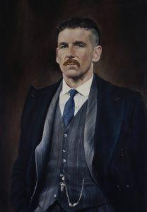 peaky blinders portrait by Desmond Mac Mahon