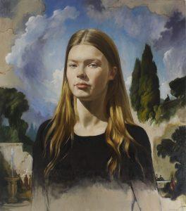 portrait by Desmond Mac Mahon