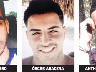 Anthony Luis Laureano Disla, de 25 años, izquierda, y Juan Ramón Guerrero, de 22, a la derecha, asesinados en la matanza perpetrada la mañana del domingo último en la discoteca Pulso, en Orlando, Florida