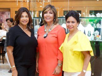 Gladys Familia, Rita Soriano, Cristina Rosario