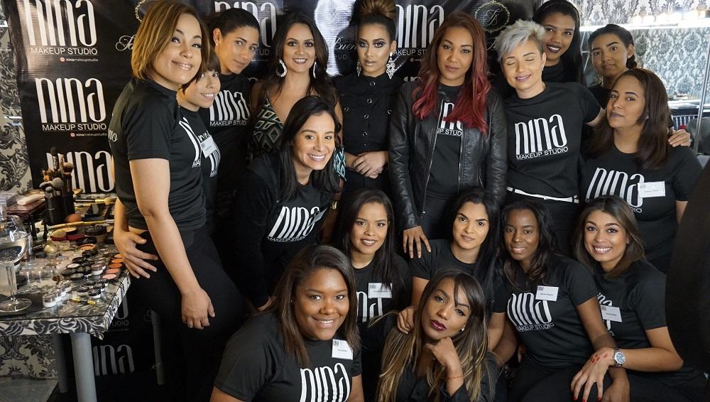 Brasileña Tati Bueno en Nina Makeup Studio
