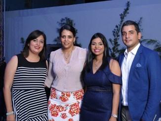 Perla Gutiérrez, Yamilet Matos, Analí Rivas y Luis José Gutiérrez.