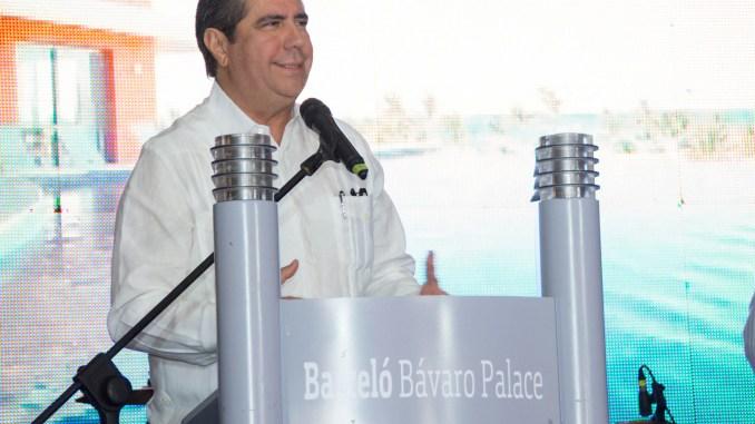 El ministro de turismo, Francisco Javier García en la inauguración de DATE 2017.