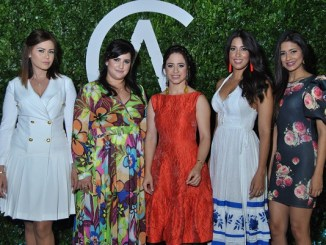 Zaira Alba, Bianca de Castillo, Alis Custodio, Carina de Medina y Beronica Reynoso.